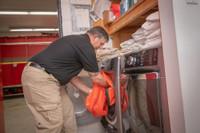 Decon Bag, Laundering, Waterproof Decontamination Bag, Reusable Decontamination Bag, 75L Decontamination Bag, 75L Dry Bag, Lifestyle