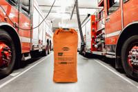 Decon Bag, Standing Front View, Waterproof Decontamination Bag, Reusable Decontamination Bag, 75L Decontamination Bag, 75L Dry Bag, Lifestyle