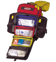 Firefly Medic Gear Bag, Open Angled View, Wildland Medic Bag, Replacement Medic Bag