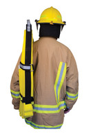 High Rise Hose Straps, Back View, Fire Hose Straps, High Rise Fire Hose Straps