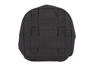 Personal Pouch, Back Molle View, Wildland Accessory Pouch, Wildland Pack Pouch
