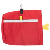 Sidewinder Mask Bag, Back View, SCBA Bag, Firefighter SCBA Bag, SCBA Mask Bag