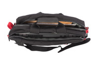 Velocity Briefcase, Open Compartments Top View, Industrial Laptop Bag, Industrial Briefcase