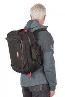 Velocity Briefcase, Side Angle View, Industrial Laptop Bag, Industrial Briefcase, Backpack