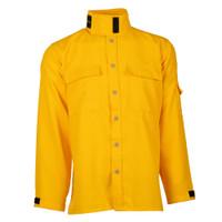 Wildland Brush shirt, front, collar up