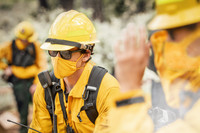 Wildland Face Mask, Lifestlye, Front View