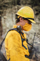 Wildland Face Mask, Lifestlye, Side View