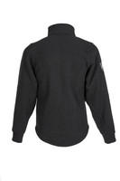 Alpha Jacket (Black), Back View, Super Fleece FR Collection, NFPA 70E, NFPA 2112, Arc Rated, Outerwear