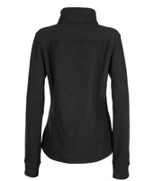 Alpha Jacket Women's (Black), Back View, Super Fleece FR Collection, NFPA 70E, NFPA 2112, Arc Rated, Outerwear