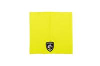 Hi-Vis Neck Gaiter, Flat View,  FR Neck Gaiter, Flame Resistant Neck Gaiter, Hi-Vis Yellow