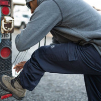 High Line Pant, Side View, FR Woven Pant, Lifestyle
