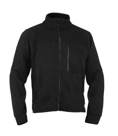 Alpha Jacket, Front View, Fleece FR Jacket, Flame Resistant Jacket