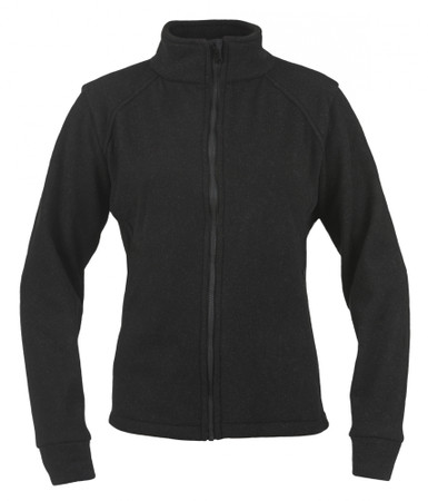 Alpha Jacket Womens, Front View, Fleece FR Jacket, Flame Resistant Jacket