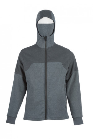 Flak Jacket, Front View, Elements FR Jacket, Flame Resistant Jacket, Built In Balaclava