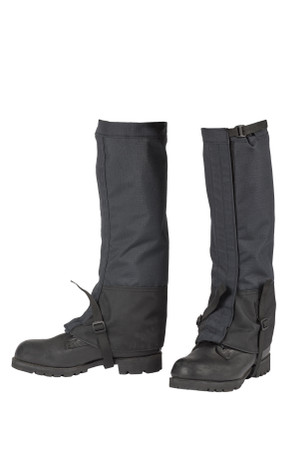 FR Waterproof Leg Gaiters, Full Angle View, On Boots, Wildland Accessories, Wildland Leg Gaiters