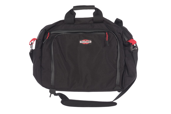 Velocity Briefcase, Front View, Industrial Laptop Bag, Industrial Briefcase