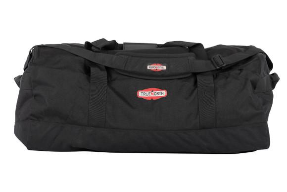 Dispatch Duffel, Black, Front View, Structure Duffel Bag, Fire fighter duffel, Fire fighter travel bag