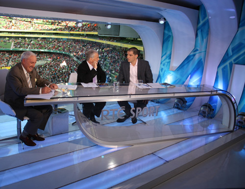RTÉ - Sports Set - Aviva Stadium