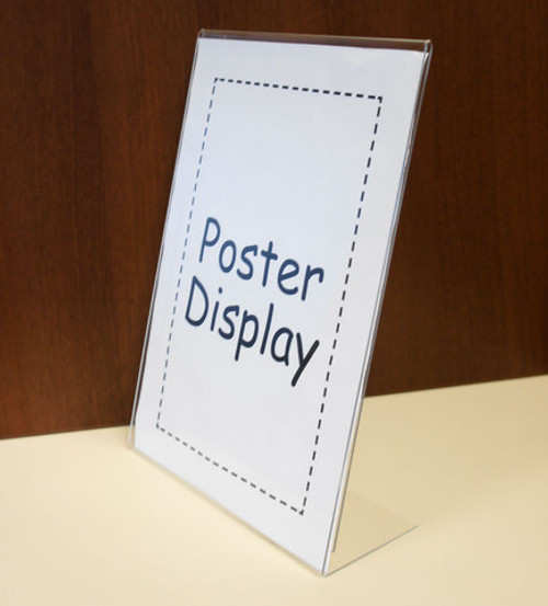 A4 Lean Back Poster Holder