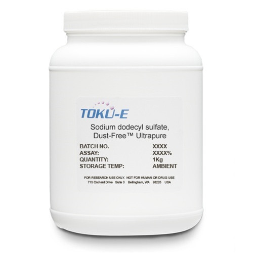 Sodium Dodecyl Sulfate (SDS), Dust-Free™ Ultrapure