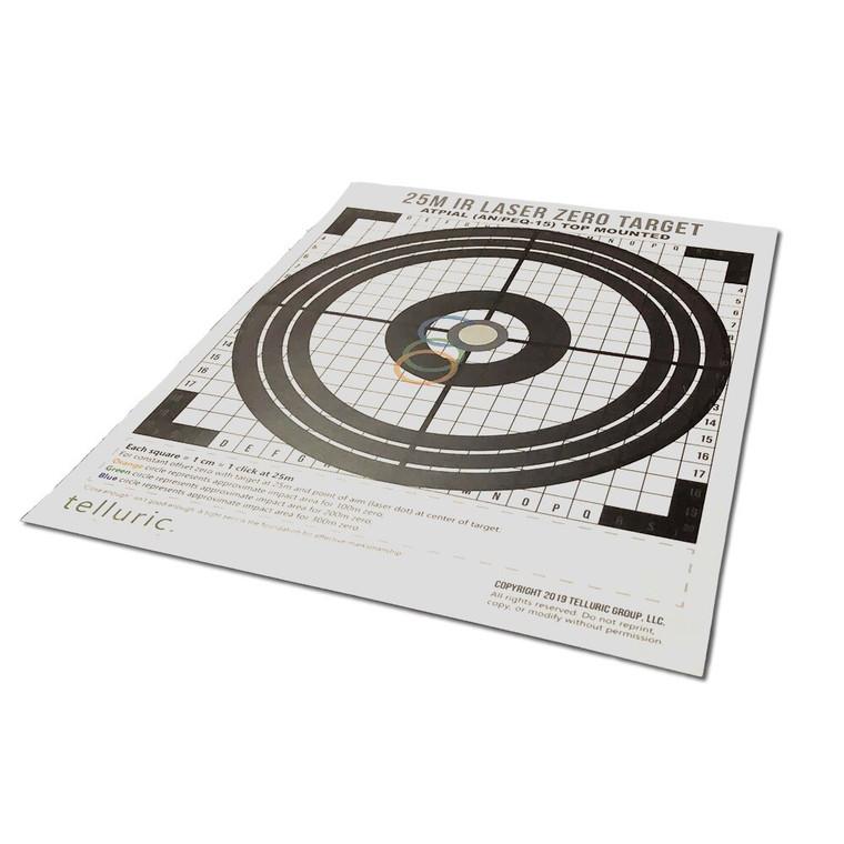 IR Laser Zero Targets (Fixed Zero Distance)