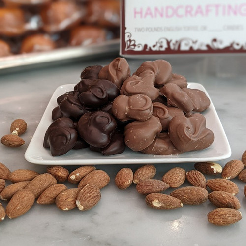 Chocolate Covered Nut Clusters - 1lb 2oz