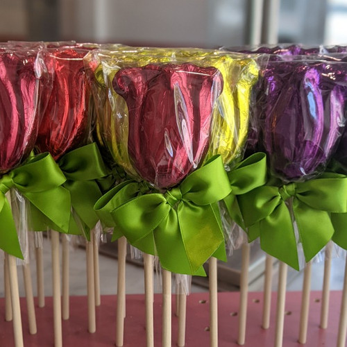 Spring Chocolate Lollipops - Set of 2