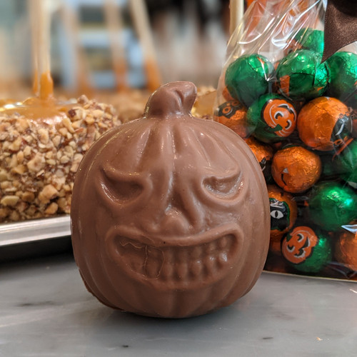 Small Chocolate Pumpkin