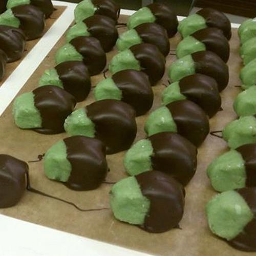 dark chocolate marzipan