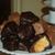 Handmade Honeycomb candy, covered in Milk Chocolate and Dark Chocolate