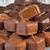 Vanilla Caramel Squares covered in Milk Chocolate and Dark Chocolate