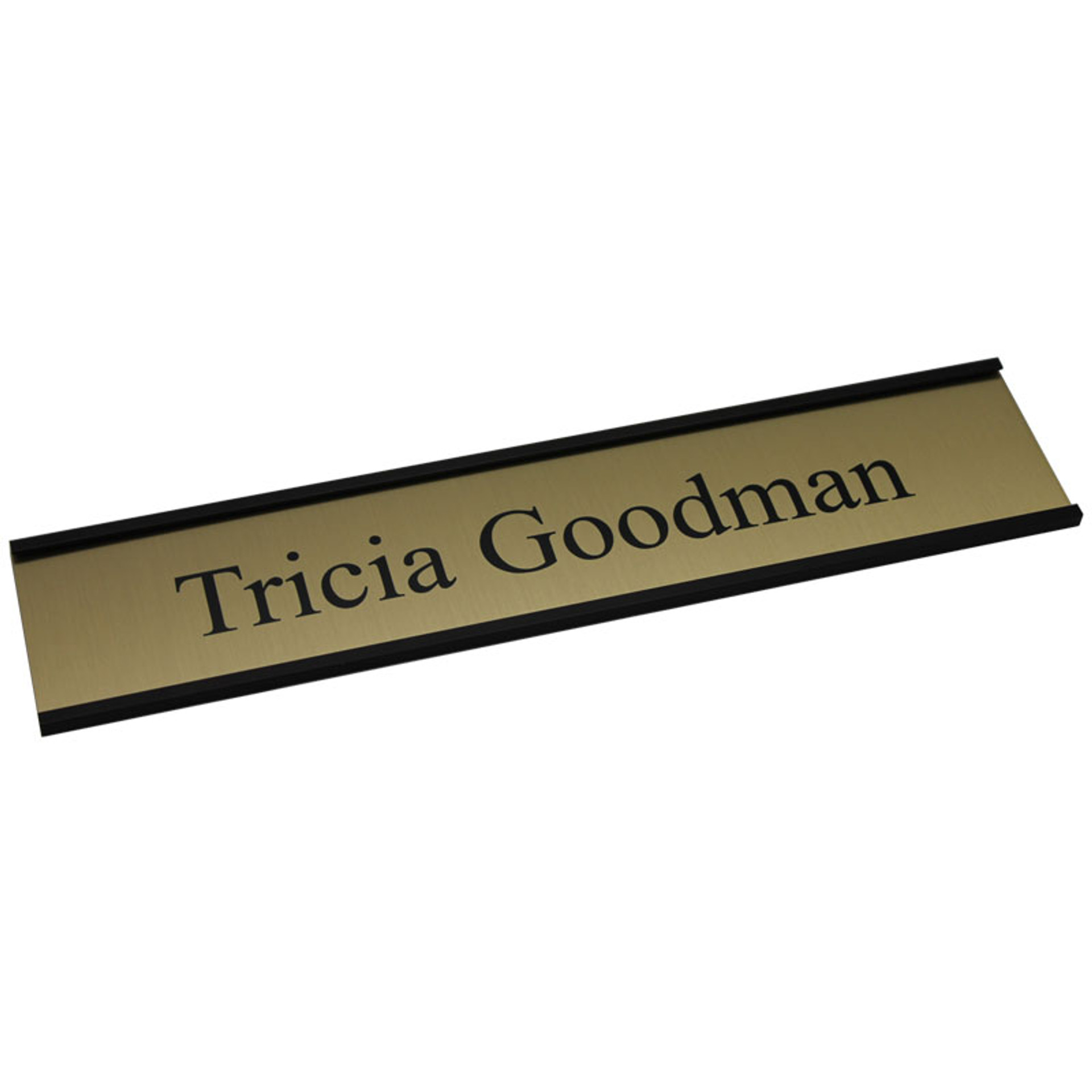 "Profile Framed Door Sign - 2"" x 10"""
