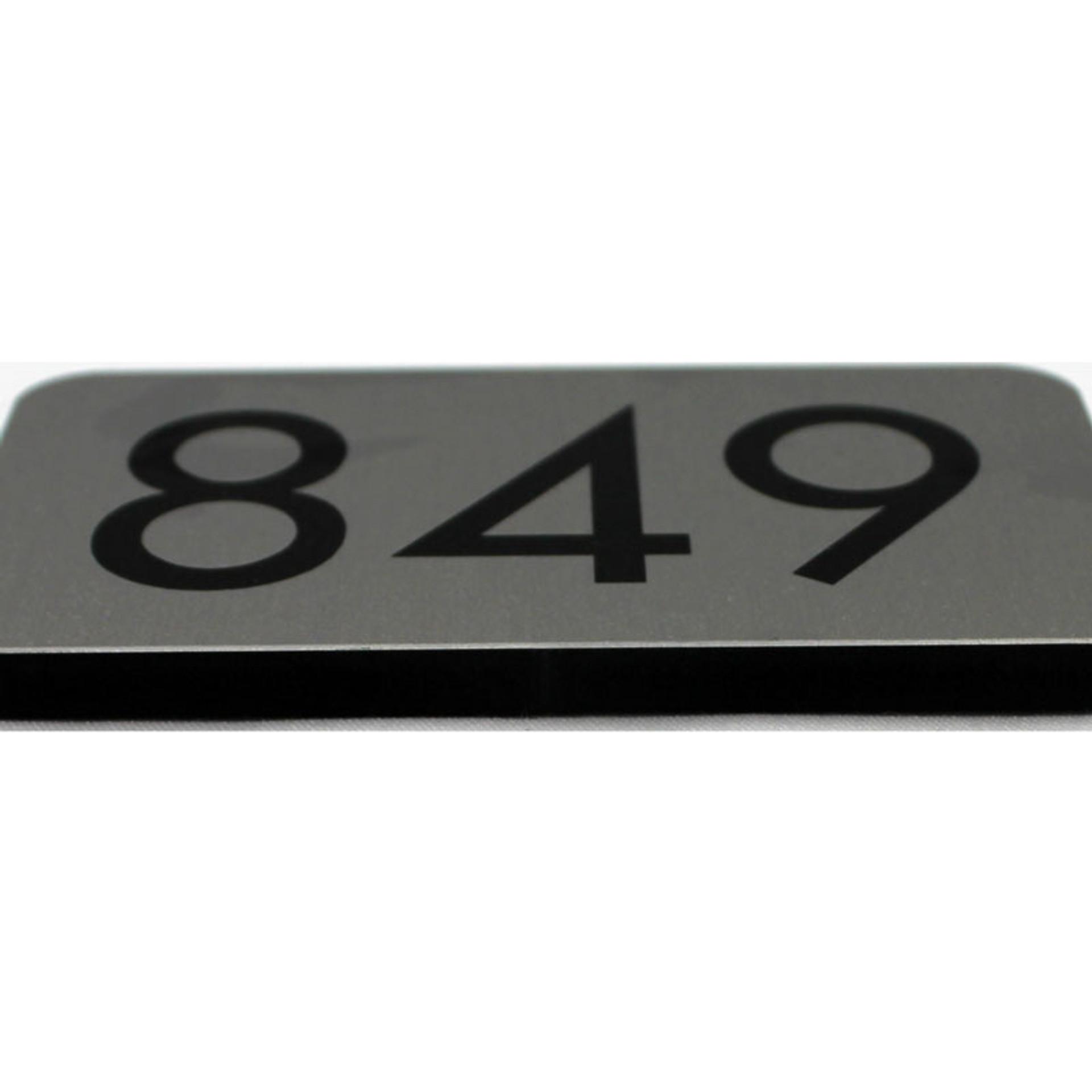 "Raised Profile Door Sign - 2"" x 4"""