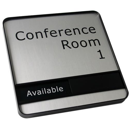 """Profile Framed Sliding Conference Sign - 6"""" x 6"""""""