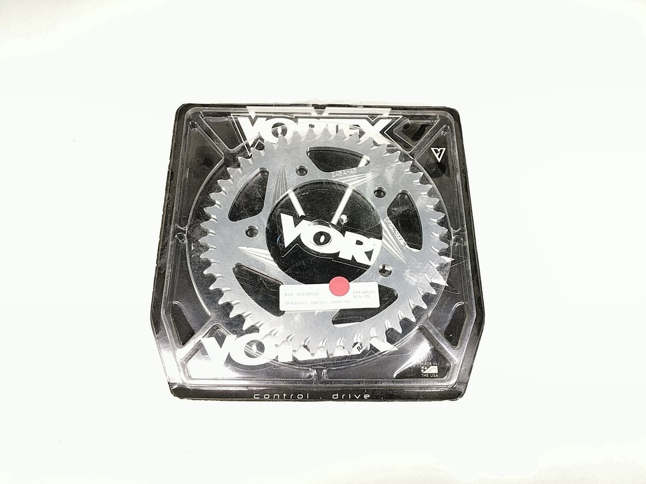 Vortex Rear Sprocket 45T 250 Silver 245A-45