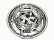 04 Ducati Multistrada 1000 Front Wheel Rim STRAIGHT With Disc Brake Rotor 17 X 3.50