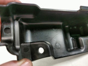 12 Kawasaki Voyager 1700 Right Side Inner Pannier Lock Cover 14091-1754