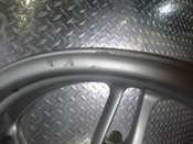 02 BMW R1150R R1150 R Rear Wheel DAMAGED