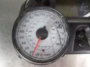 09 Kawasaki ZX14 Gauge Gauges Speedo Meter DAMAGED 25031-0253