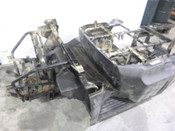 09 Honda Big Red MUV 700 Main Frame Chassis SLVG