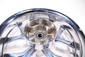 Chicago Hustler Harley HD FLH FLHT Wheel Rim Rear Billet Chrome 18x5.5 65-4279