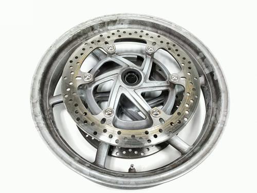 04 Ducati Multistrada 1000 Front Wheel Rim STRAIGHT With Disc Brake Rotor 17 X 3.50