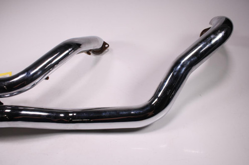 08 Suzuki C109 R RT COBRA Full Exhaust Pipe Muffler Head Header DAMAGED Bracket