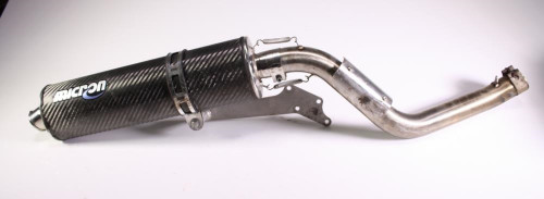 02 Honda CBR600F4i MICRON Carbon Muffler Exhaust Slip On Connecting Pipe