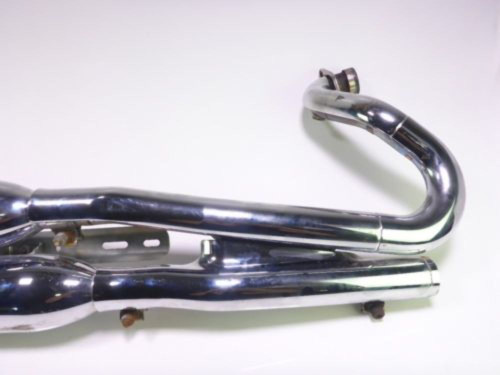08 Victory Kingpin Exhaust Pipes DAMAGED