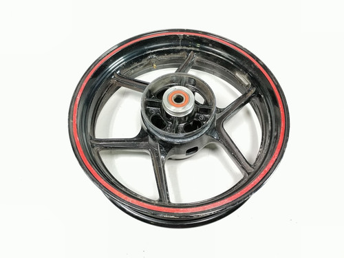 09 10 11 Kawasaki Ninja EX 650 Rear Wheel Rim STRAIGHT 17 x 4.50