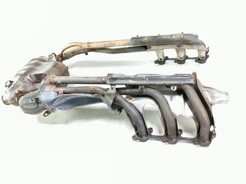 Honda Goldwing 1500 Header Head Exhaust Pipes With Collector Chamber Joint