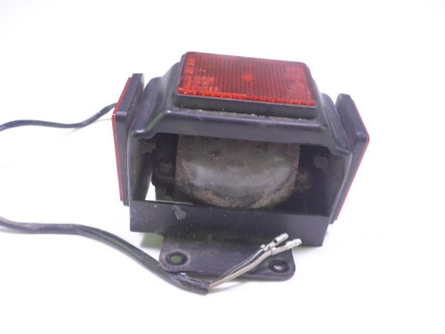 84 Suzuki SP 600 License Plate Tag Mount Light Reflectors