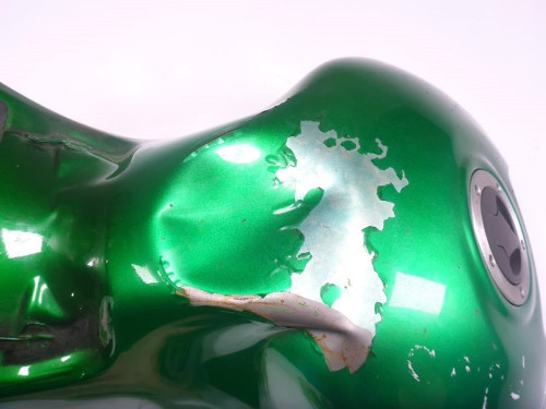 12 Kawasaki ZX14 Gas Fuel Tank Damaged