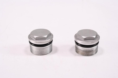 16 Indian Scout Front Fork Caps Ends Lids 2206001 2205825